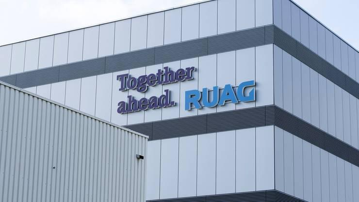 Die Ruag International schrieb im ersten Halbjahr 2020 einen Verlust.
