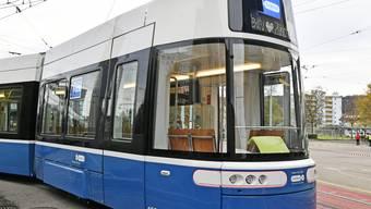 Das neue Flexity-Tram für die Zürcher Verkehrsbetriebe.