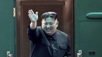 Reist per Bahn nach Russland: Nordkoreas Machthaber Kim Jong Un. (Archivbild)