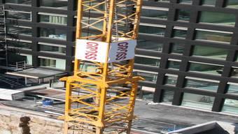 Auf dem Lindenareal entsteht ein Wohn- und Geschäftshaus. PKR
