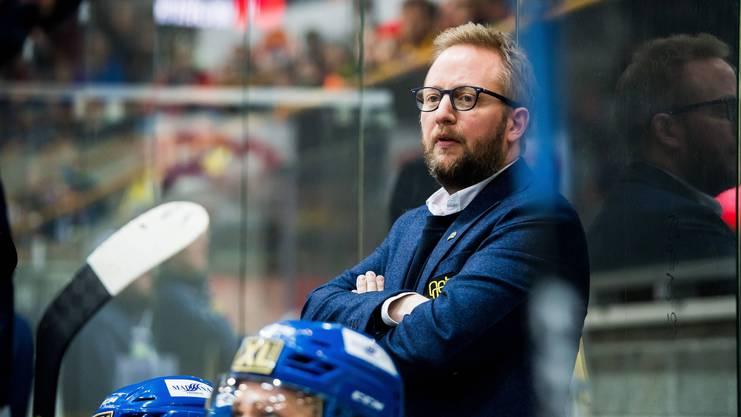 Fredrik Söderström wird Trainer des EHC Olten