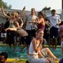 Aus Sicherheitsgründen werden Poolpartys meist in seichtem Gewässer abgehalten – auch die Bachgraben-Poolparty soll im Kinderplanschbecken stattfinden. (Symbolbild)