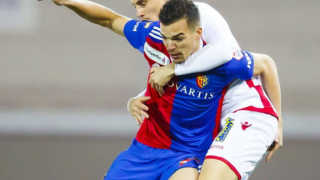 Kevin Bua steht dem FC Basel mehrere Wochen nicht zur Verfügung