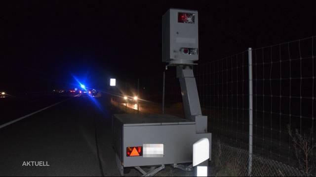 Radargerät in Niederbipp komplett demoliert
