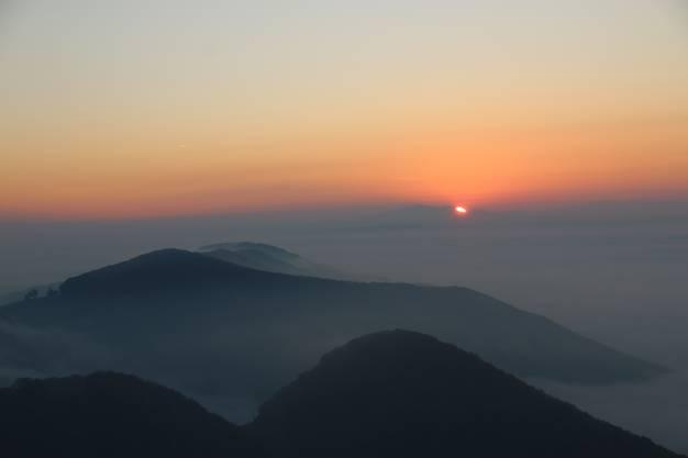 Sonnenaufgang auf der Wasserfluh