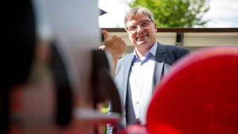 Stefan Hug-Portmann, SP Gemeindepraesident Biberist