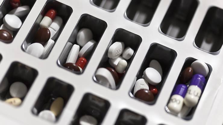 Die Pharmaindustrie hat bei den Exporten im Februar mit 9,5 Milliarden Franken einen neuen Monatsrekord aufgestellt. (Themenbild)