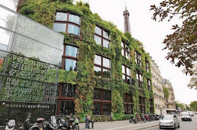 Grüne Vorbilder: Das Musée du Quai Branly in Paris...