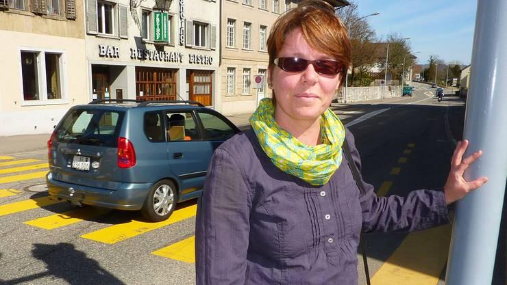 Sibylle Michel ist überzeugt, dass Schüler die gefährlichen Stellen auf ihrem Schulweg kennen. BY