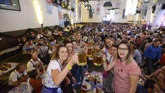 Oktoberfest Solothurn 2017 in der Reithalle