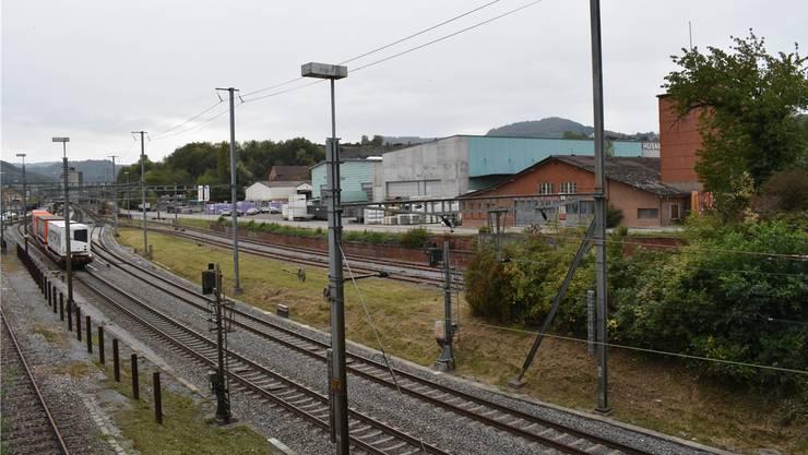 Der Bahnhof Frick soll von Norden her erschlossen werden. Bild: nbo
