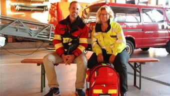 Guide Reijnen und Elvira Schärer leiten die neu gegründete Notfallgruppe.