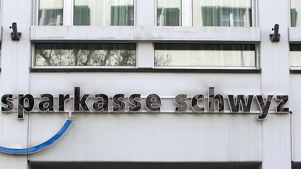 Sparkasse Schwyz erzielt 2020 höheren Jahresgewinn