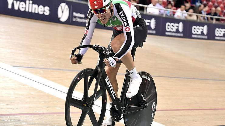 Gaël Suter verpasste die WM-Medaille um einige Meter (Archivbild)