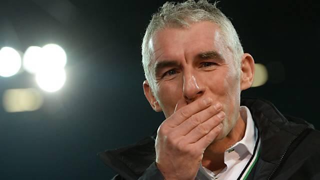 Trainer Mirko Slomka ist bei Hannover entlassen worden.