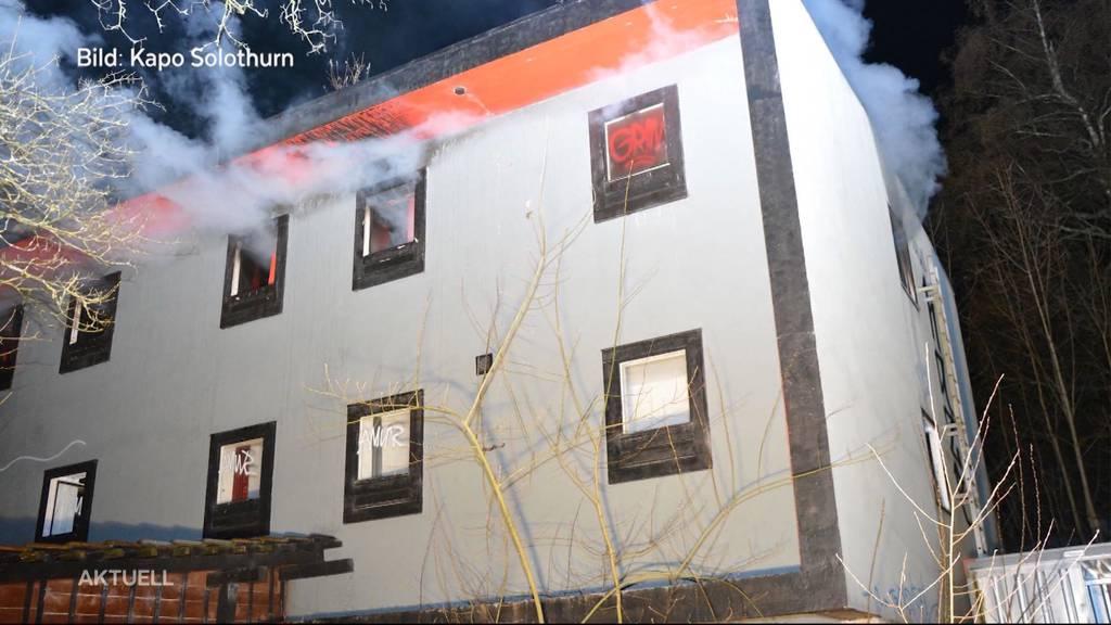 Haben zwei junge Frauen Brand in ehemaligem Motel «Bolero» gelegt?