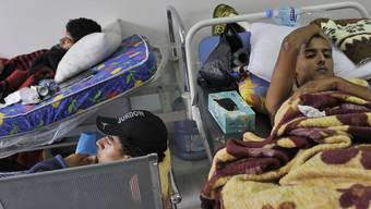 In den nächsten Tagen kommen schwer verletzte Libyer in die Schweiz, wo sie medizinisch versorgt werden (Archiv)
