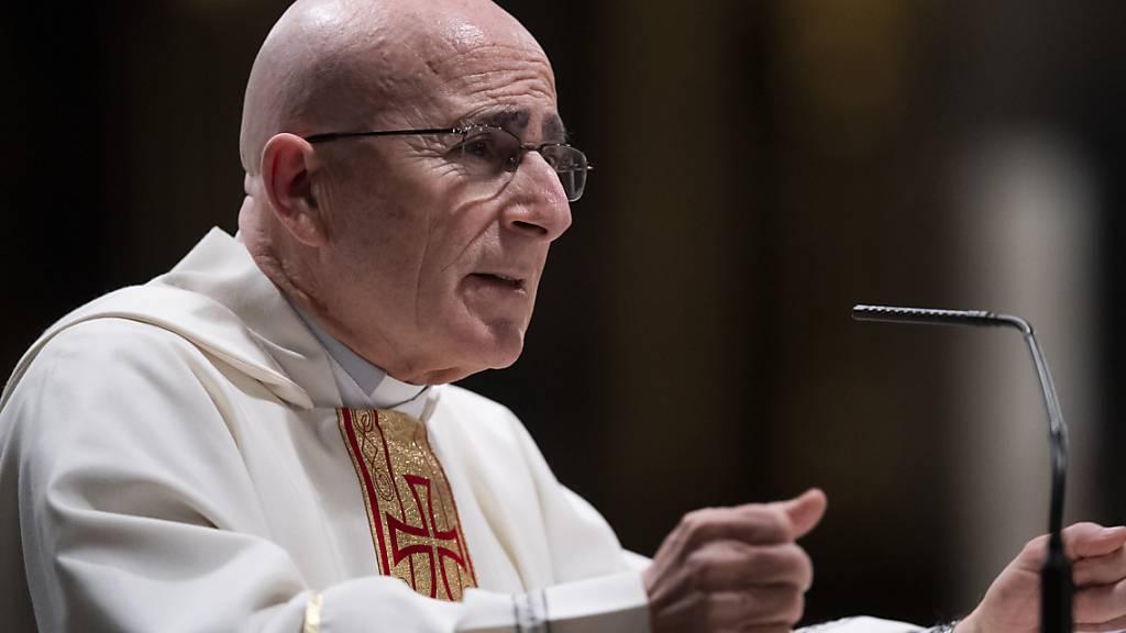 Neuer Churer Bischof Bonnemain bleibt mindestens fünf Jahre im Amt