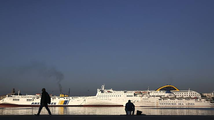 Die bei der Küstenschifffahrt beschäftigten griechischen Seeleute haben für Montag einen 24-stündigen Streik angekündigt. (Archivbild)