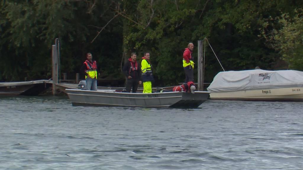 Nach Badeunfall: Zwei Personen im Rhein bei Paradies (TG) vermisst - Suchaktion geht weiter
