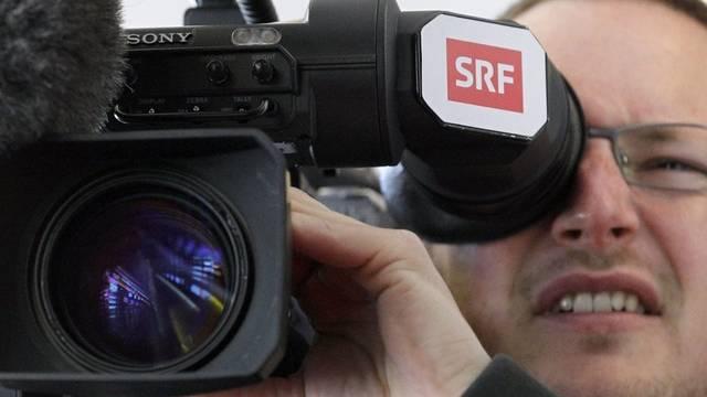 Das Schweizer Fernsehen verliert an Marktanteil. (Symbolbild)