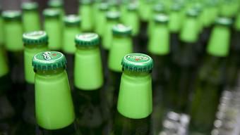 Die Fussball-WM hat der Brauerei Carlsberg zu einem Gewinnanstieg im ersten Halbjahr 2018 verholfen. (Archiv)