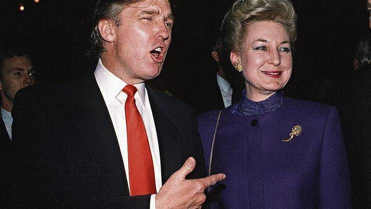 Donald Trump und Maryanne Trump Barry sind eines von vielen Geschwisterpaaren, bei denen Streit entbrannt ist.
