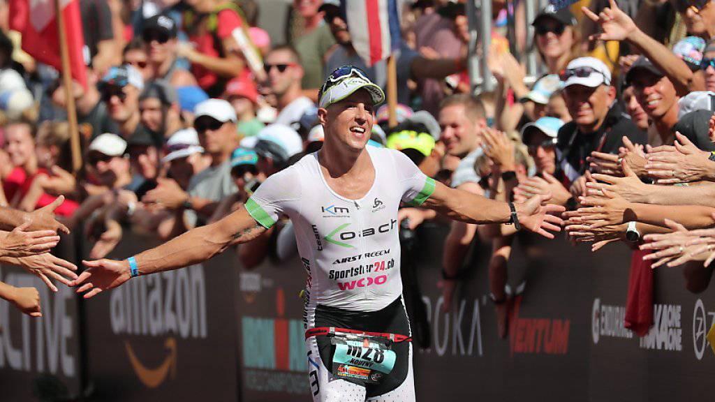 Philipp Koutny imponierte im Vorjahr als Debütant im Profifeld auf Hawaii mit dem 15. Rang