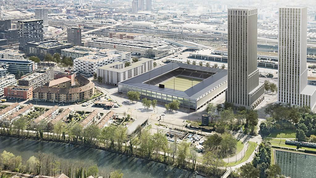 Die Stadtzürcherinnen und Stadtzürcher stimmen erneut über eine Stadion-Vorlage ab. Denn gegen den privaten Gestaltungsplan für das Projekt «Ensemble» auf dem Zürcher Hardturm-Areal ist das Referendum ergriffen worden. In der Kritik stehen vor allem die «klimaunverträglichen Hochhäuser».