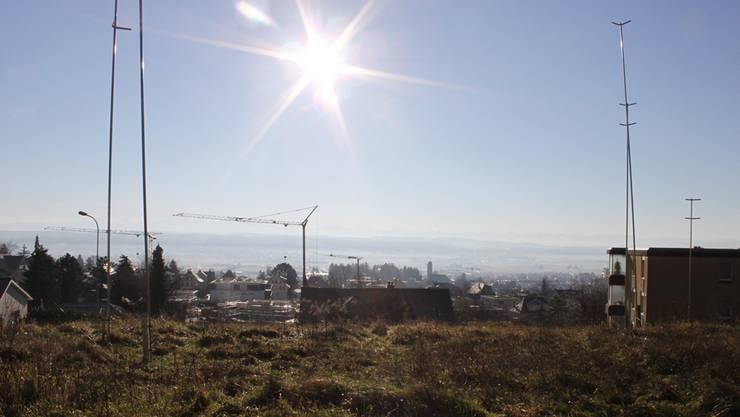 Bevorzugte Wohnlage: Das Areal Hinzihöfli kann jetzt überbaut werden.