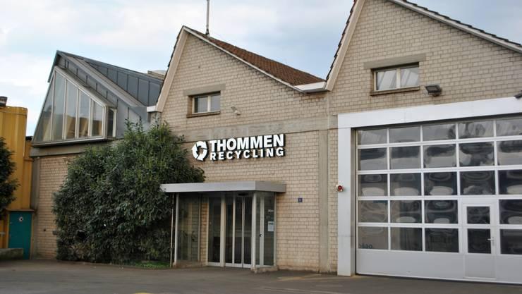 Die Thommen AG in Kaiseraugst prüft Massnahmen für eine Reduktion vom Staub- und Lärmemissionen.