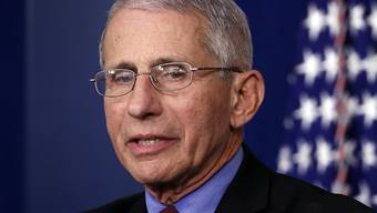Anthony Fauci, der Direktor des Nationalen Instituts für Infektionskrankheiten in den USA, rechnet mit Millionen von Corona-Infizierten in den USA. Zugleich machte er deutlich, dass er wenig von Prognosen halte, da man leicht falsch liegen könne. (Archivbild)