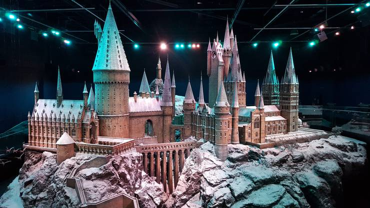 Dieser Anblick hinterlässt Gänsehaut: das Schloss von Hogwarts.