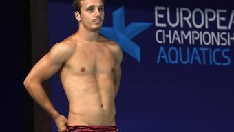 Guillaume Dutoit schafft es auf dem 3-m-Brett in den Final