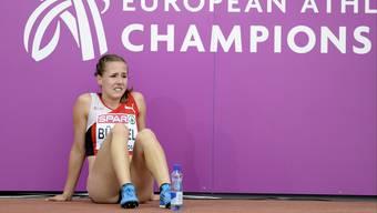 Bitteres Aus: Selina Büchel landet auf dem 9. Schlussrang.