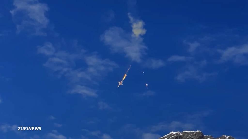 Kampfjet bei Melchsee-Frutt abgestürzt