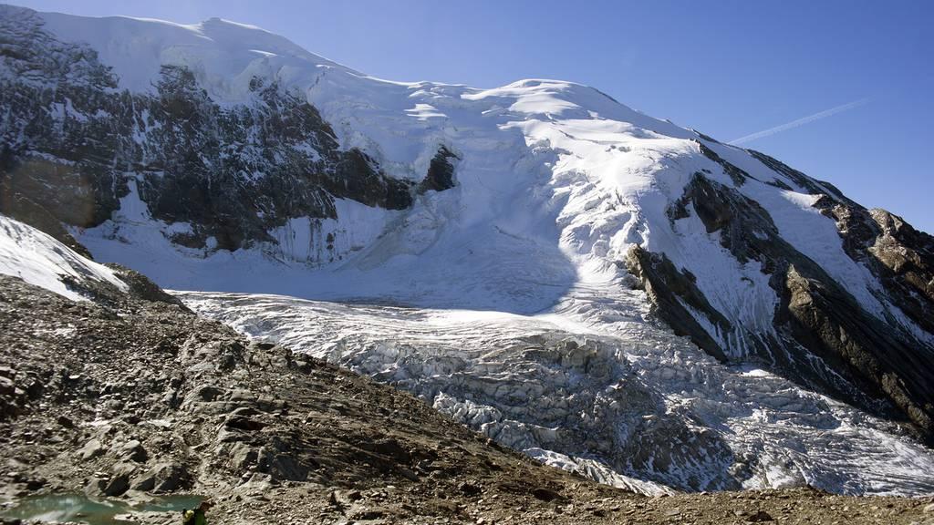 Gletscherabbruch oberhalb von Saas-Grund