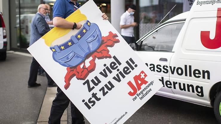 Sven Altermatt: «Das Nein zur Initiative zementiert bloss den Ist-Zustand. Es ist kein Ja zum Rahmenabkommen mit der EU.» (Archivbild)