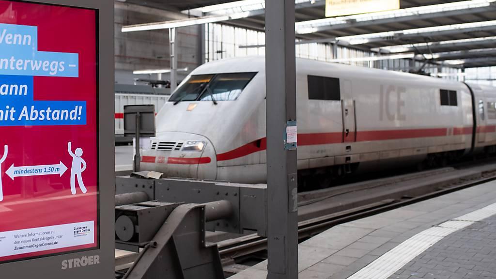 Die Gewerkschaften befürchten als Folge der Coronakrise einen Abbau von mehr als 10'000 Stellen bei der Deutsche Bahn. (Archivbild)