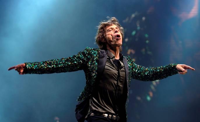 Die Rolling Stones am Glastonbury Festival