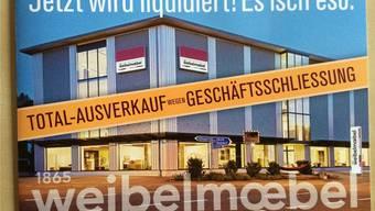 150 Jahre Tradition: Weibel Möbel in Endingen.