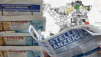 Wo es im Aargau am meisten (Langzeit-)Arbeitslose gibt