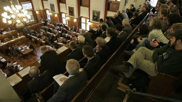Blick in den Kantonsratssaal. (Symbolbild)