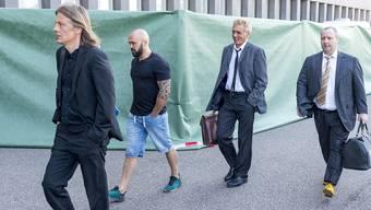 Kickboxer-Prozess: Im Fall Dojo stehen sich Paulo Balicha und Shemsi Beqiri vor Gericht gegenüber