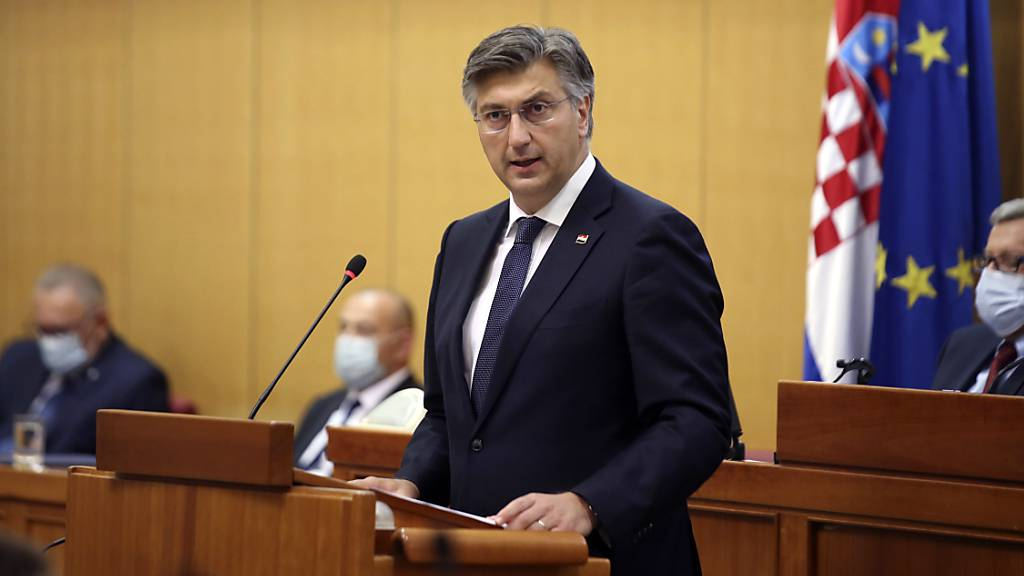 Konservativer Plenkovic wird erneut Ministerpräsident Kroatiens