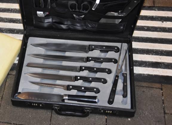 Ein mit Warnsymbolen versehener Koffer löste am Dienstagabend in Rorschach SG die Evakuation eines Zuges aus.