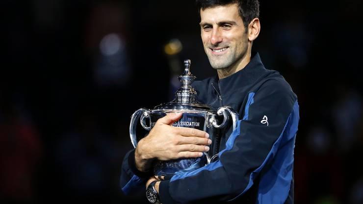 Novak Djokovic gewann die US Open bisher drei Mal.
