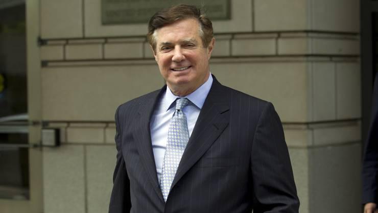 Amtete für Donald Trump als Wahlkampfmanager: Paul Manafort ist schuldig gesprochen worden.