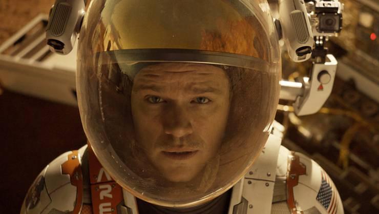 """""""The Martian"""" hat am Wochenende in der Schweiz für weitaus am meisten Verkäufe von Kinotickets gesorgt. (Archiv)"""
