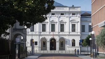 Das Bundesstrafgericht in Bellinzona. Hier wurde der Mann am Donnerstag verurteilt.